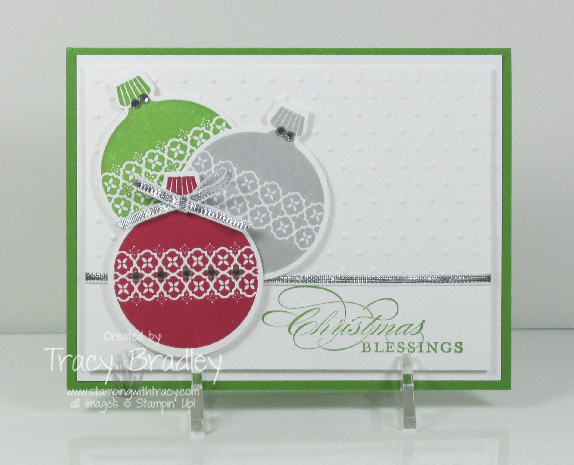 Christmas Blessings Ornaments