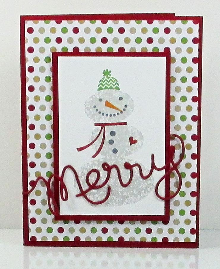 Merry Snowman #2