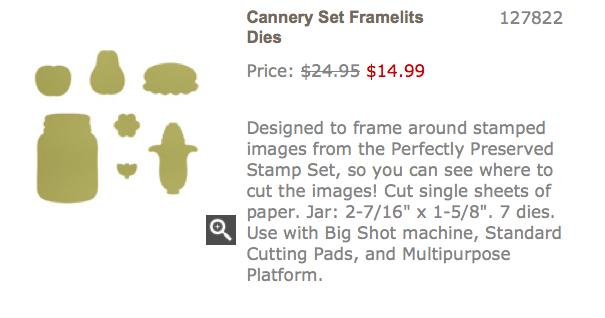 Cannery Set Framelits