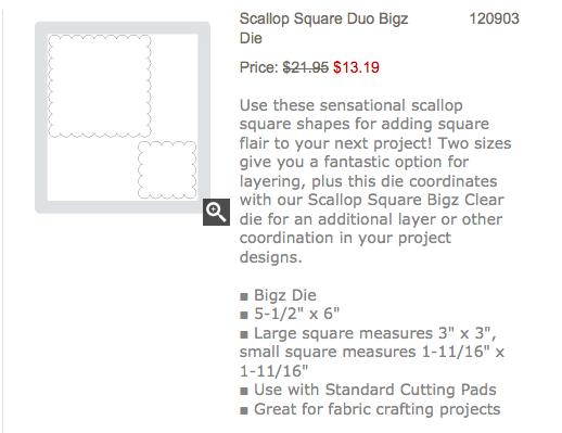 Scallop Square Duo
