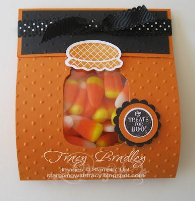 candy corn treat holder