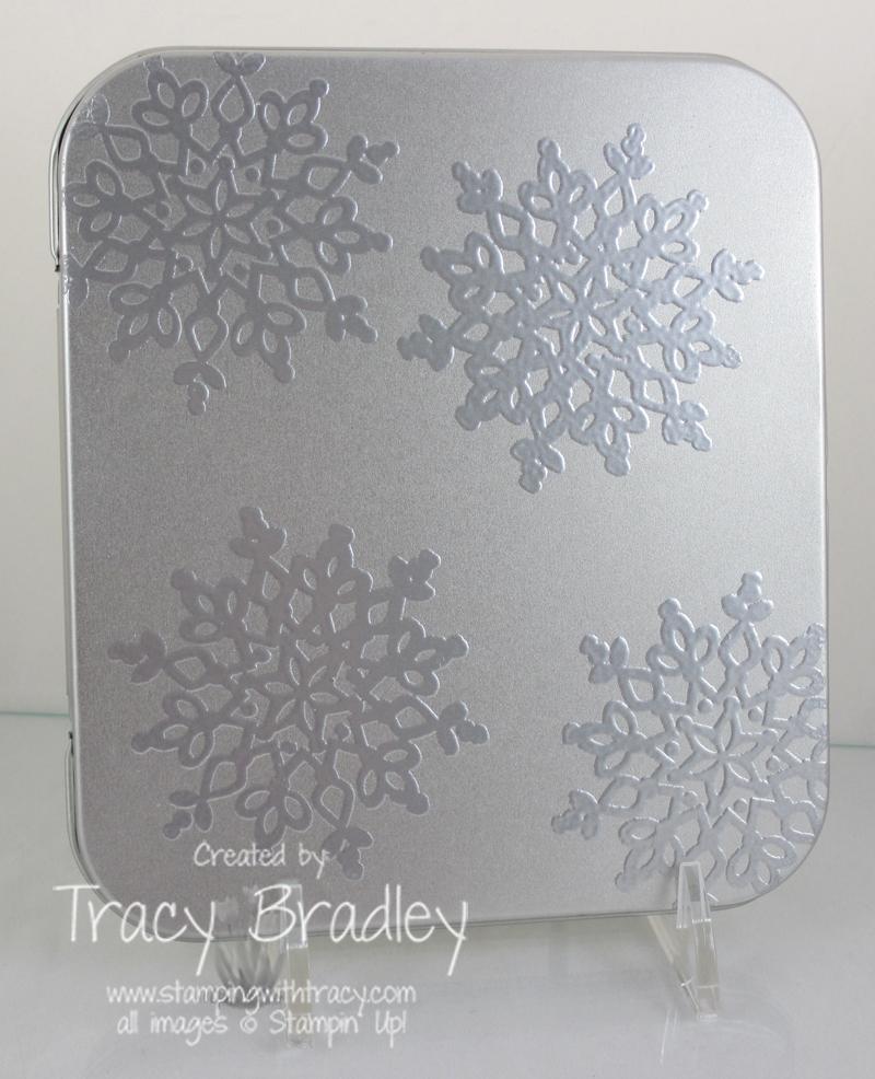 snowflakes tin front