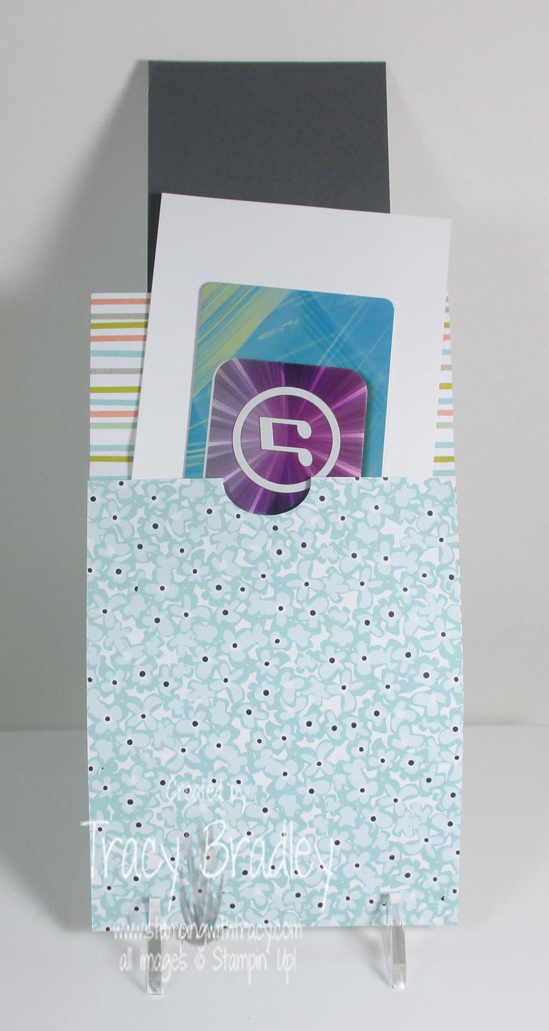 inside of gift card holder