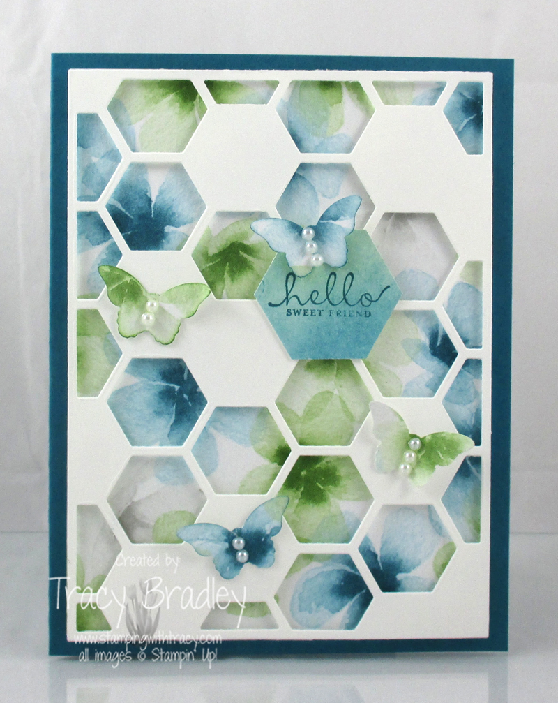 Hexagon Hive Watercolor Wonder