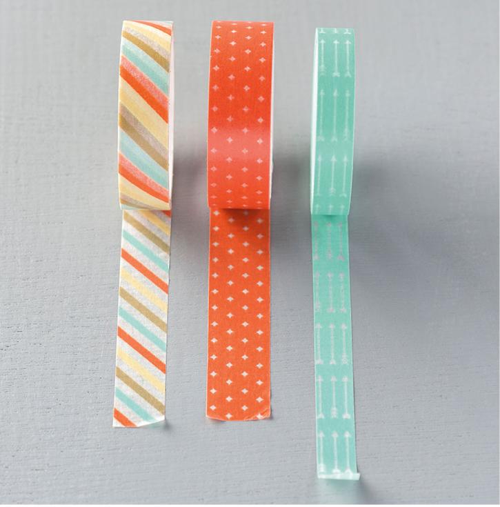 Retro Fresh Washi Tape #133031