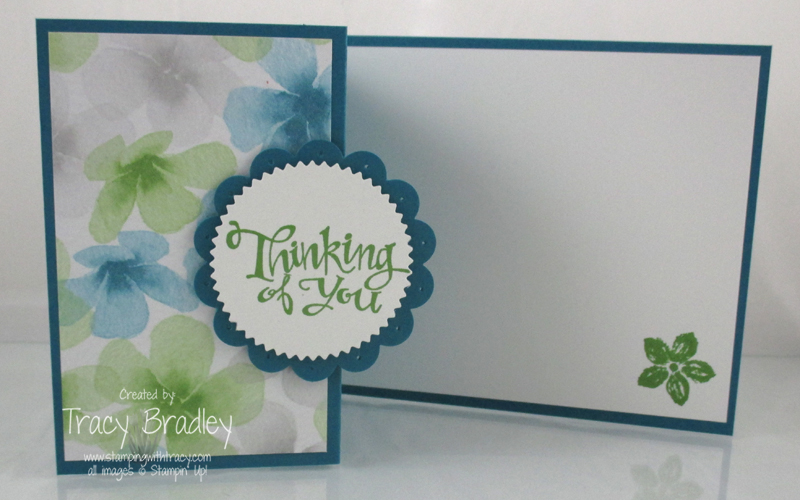 Thinking of You Side Fold open