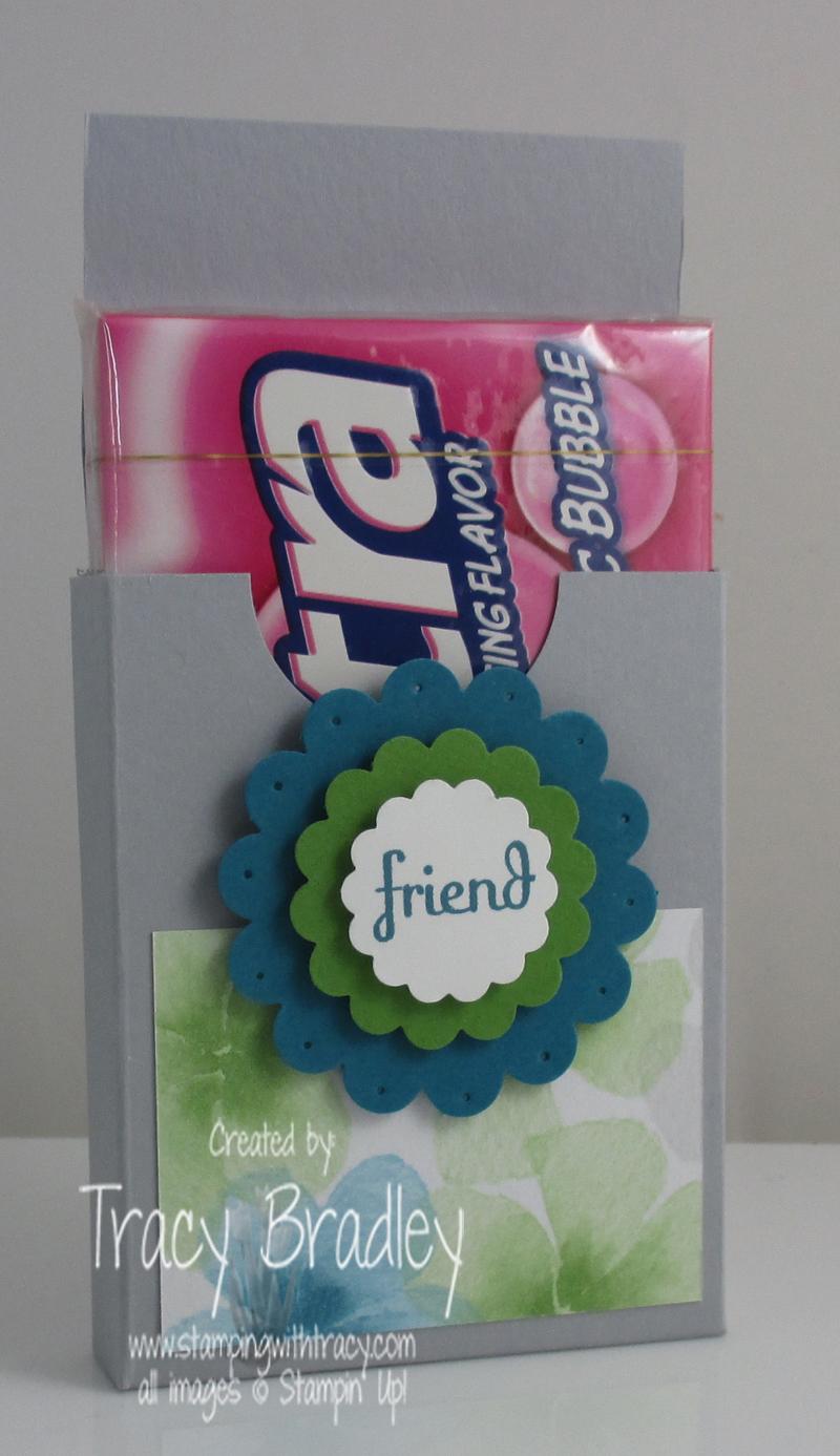 gum holder opened