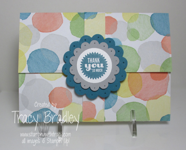 Fold Up Card front