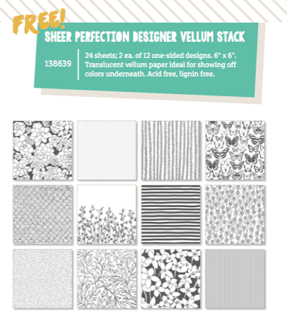 Sheer Perfection Vellum Stack