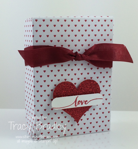 love box red ribbon