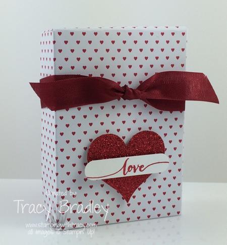 love box red ribbon