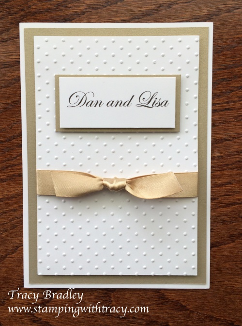 Wedding Invitation Dan & Lisa