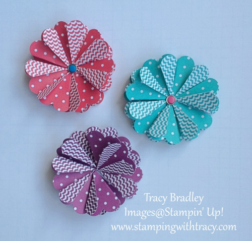 Scallop Circle Flowers