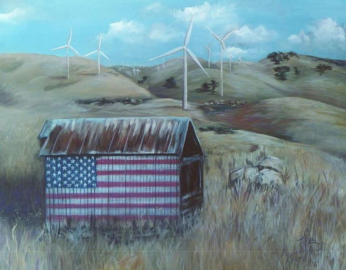 """Almost Home"" Painting by Nicki Bernacchi"