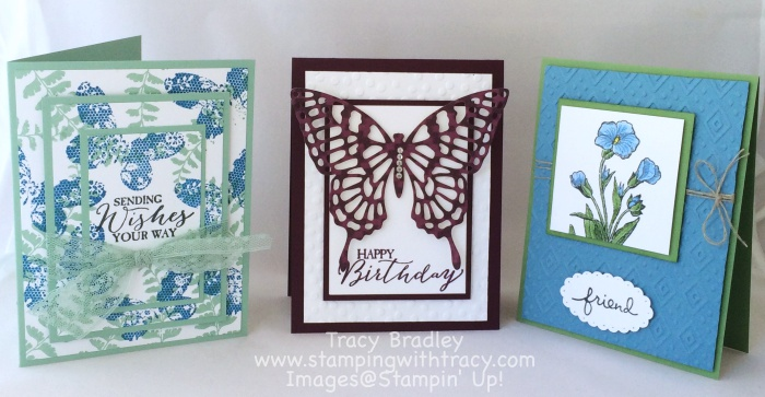 July Online Stamp Club Projects