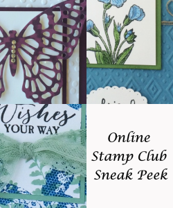 Online Stamp Club Sneak Peek