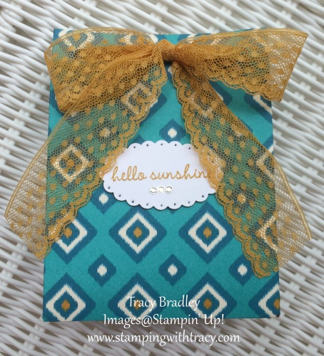 gift bag with sentiment