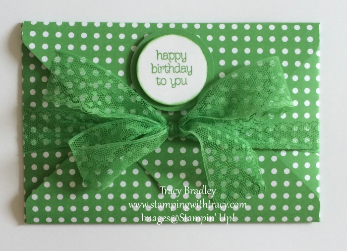 Gift Card Holder Cucumber Crush