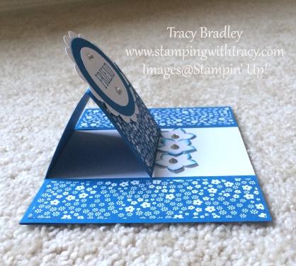 center easel card sideways