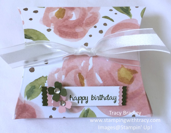 HB Blushing Bride Pillow Box