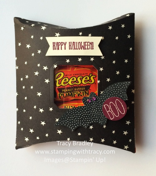 Bat Boo Pillow Box