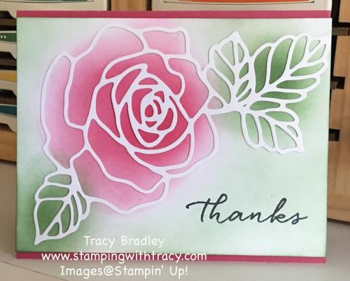 Rose Garden Blended background
