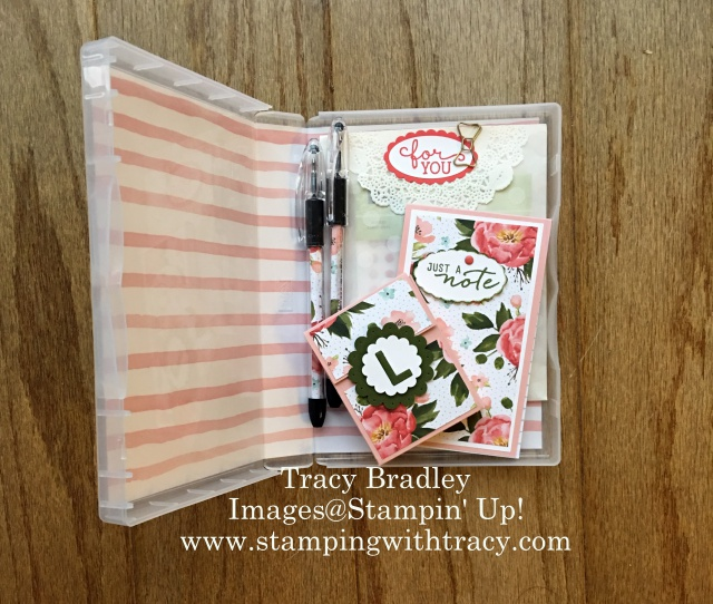 Covered Stamp Case