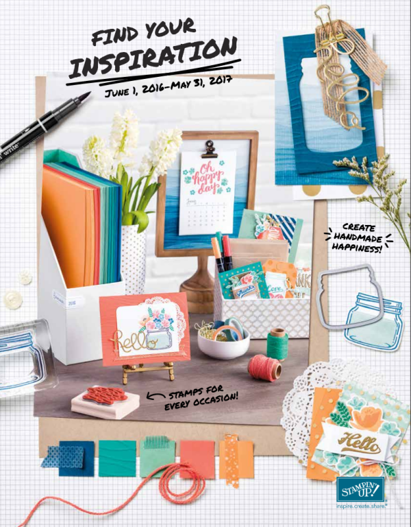 Stampin Up 2016-2017 Catalog