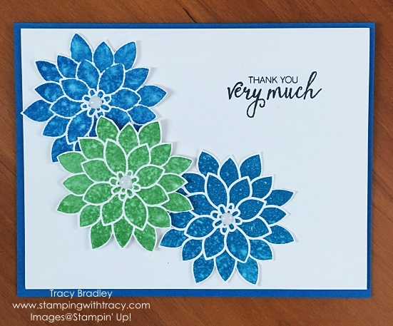 Watercolor Flowers Thank You