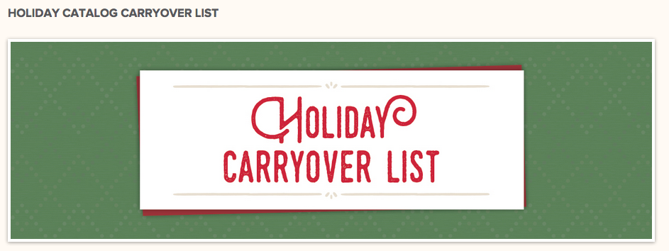 carryover list