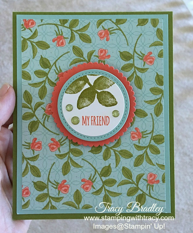 Petal Garden Paper Stack | Stamping With Tracy