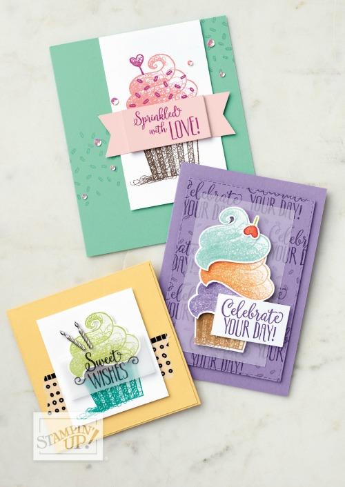 Hello Cupcake Stamp Set Saleabration 2019