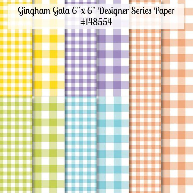 Gingham Gala Designer Series Paper