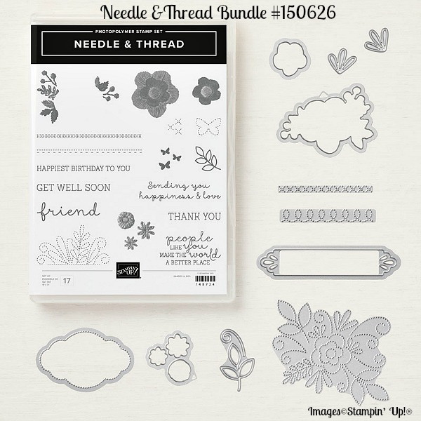 Needle & Thread Bundle Stampin Up!