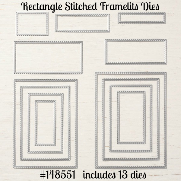 Rectangle Stitched Framelits Dies