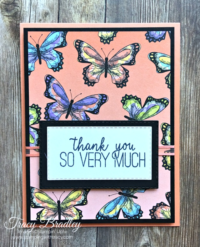 Botanical Butterfly Stampin Up