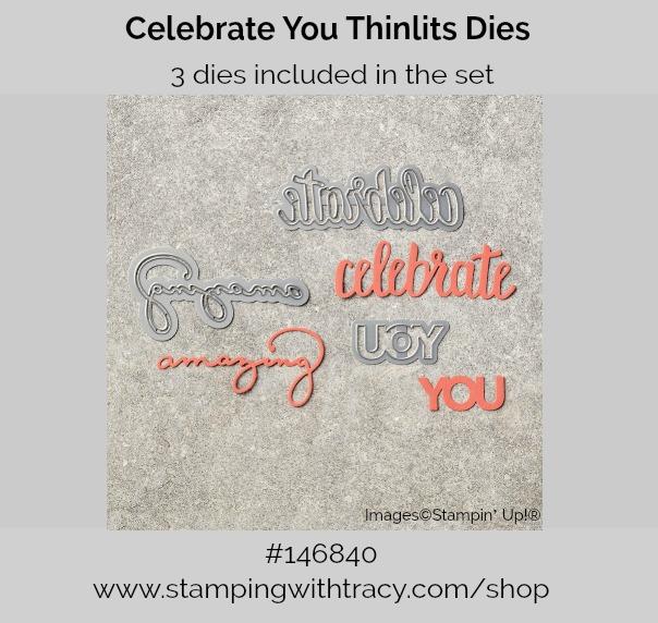 Celebrate You Thinlits Dies