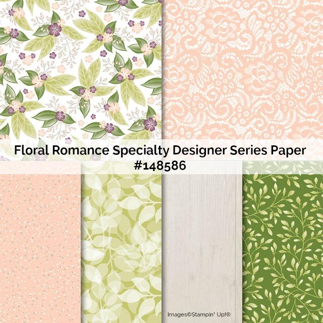 Floral Romance Designer Series Paper