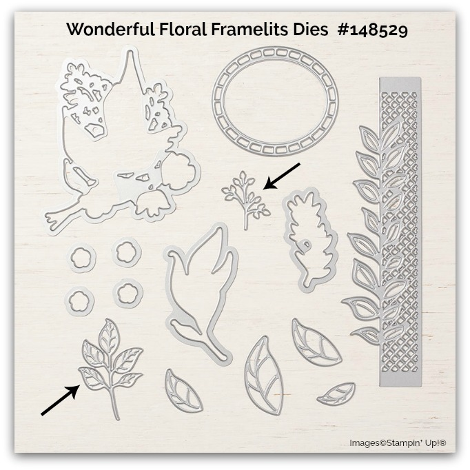 Wonderful Floral Framelits Dies Stampin Up