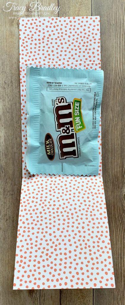 M&M's treat holder