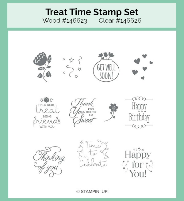 Treat Time stamp set