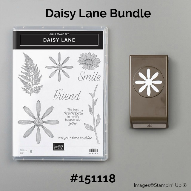 Daisy Lane Bundle Stampin' Up!