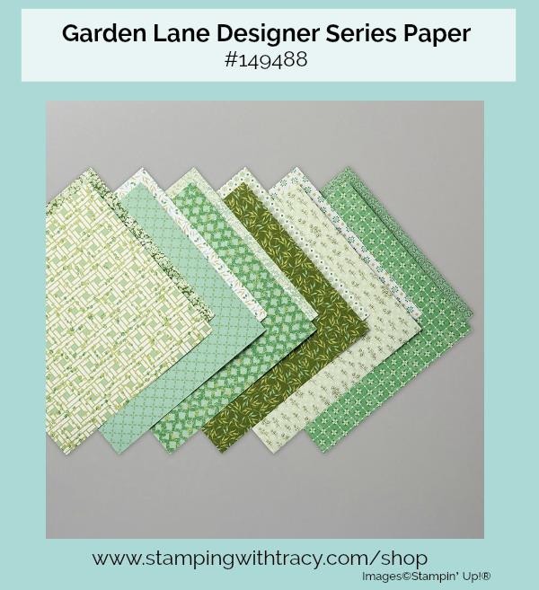 Garden Lane Designer Series Paper
