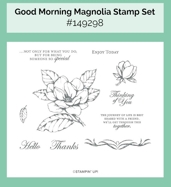 Good Morning Magnolia Stamp set