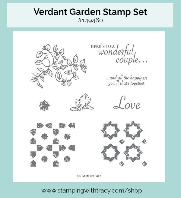Verdant Garden stamp set