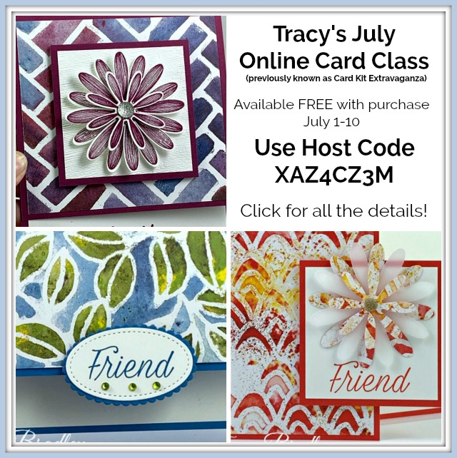 Tracy's Online Card Class