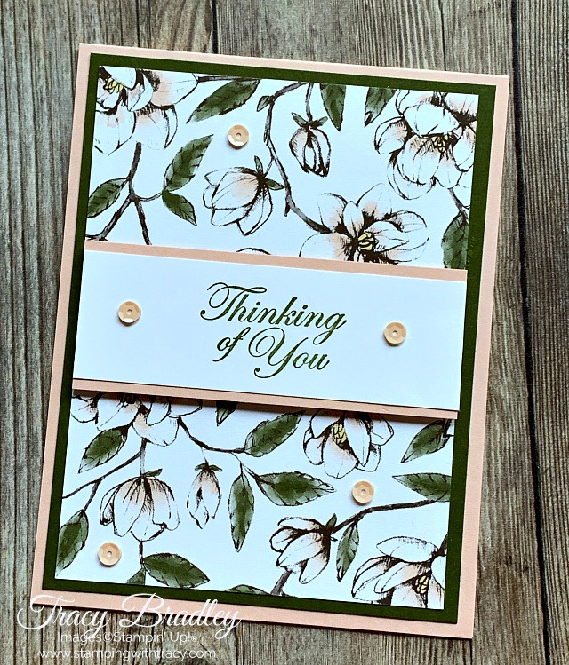 Magnolia lane Stampin Up