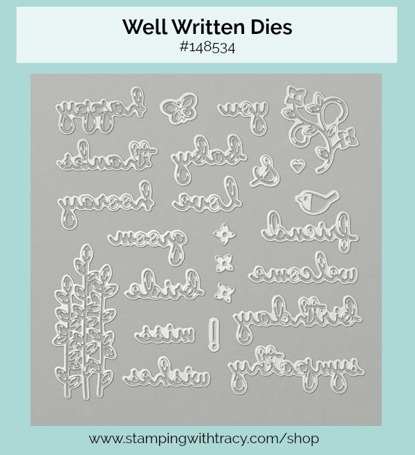 Well Written Dies