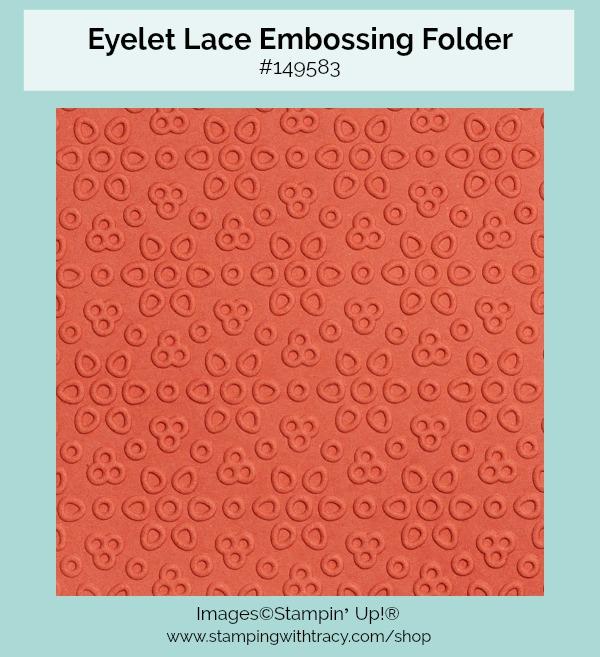 Eyelet Lace Embossing Folder