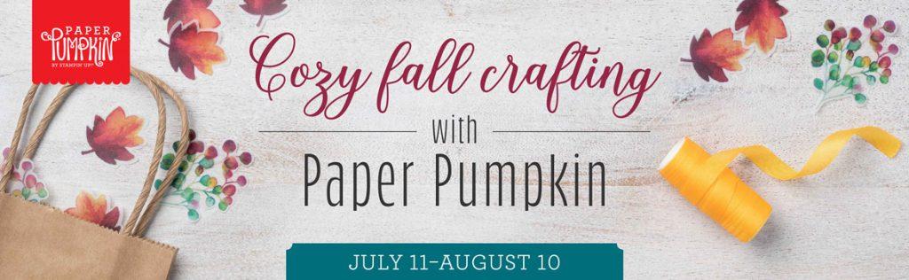 paper Pumpkin August